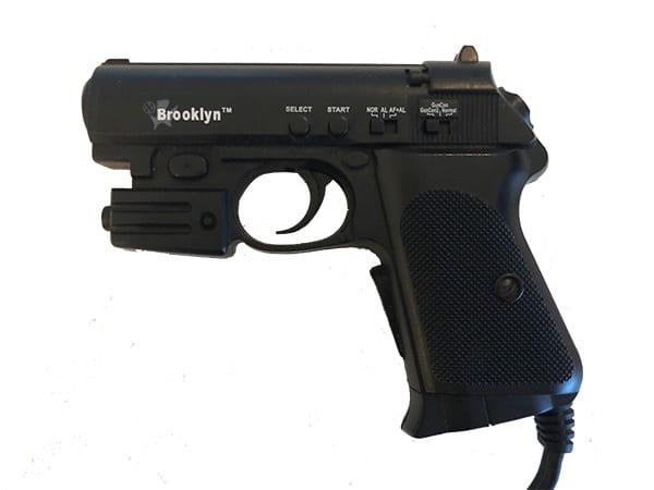 Brooklyn Walther PKK light gun PlayStation 1 og 2