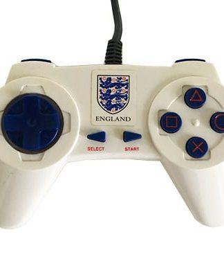Gamester Controller PS1 og PS2 analog med England logo
