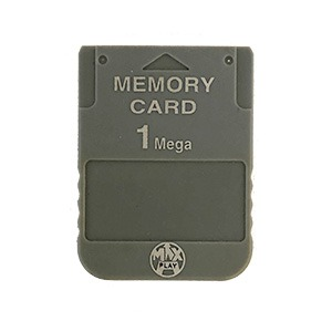 1 MB Memory Card til PS1 fra maxplay