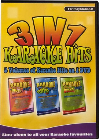 3 in 1 Karaoke Party on DVD