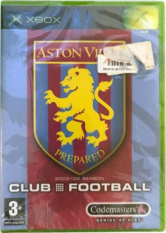 Aston Villa Club Football 2003/04 XBOX