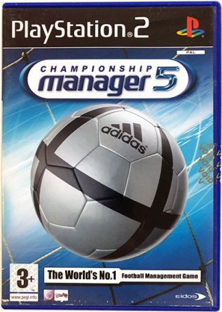 Championship Manager 2005 PS2