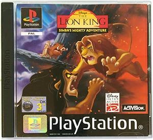 Disney's The Lion King Simba's Mighty Adventure PS1