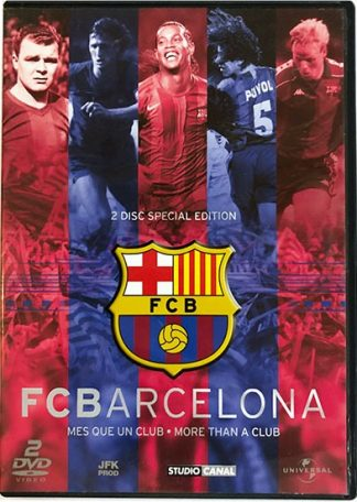 FC Barcelona More Than a Club DVD