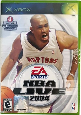 NBA Live 2004 XBOX