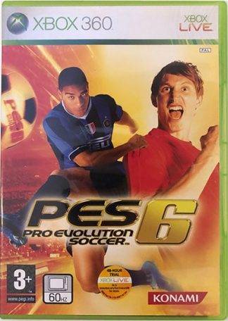 PES 6 XBOX 360