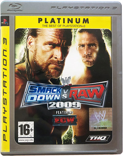 SmackDown vs Raw 2009 platinum PS3