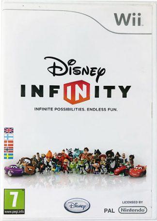 Wii spil Disney Infinity med figurer