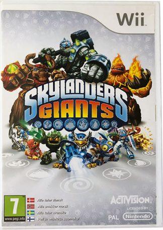 Wii spil Skylanders Giants med figurer