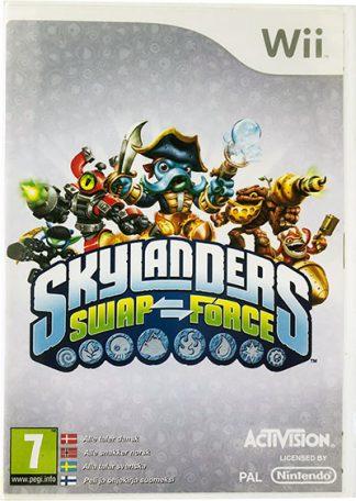 Wii spil Skylanders Swap force med figurer