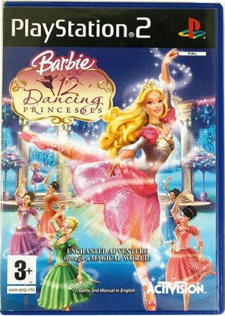 Barbie in The 12 Dancing Princesses PS2