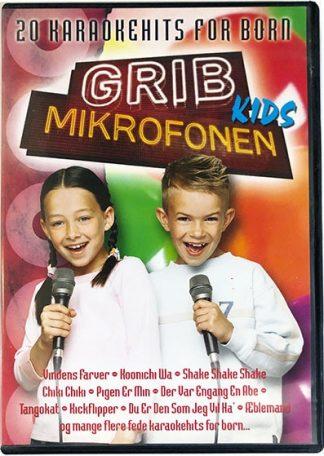 Grib Mikrofonen Kids DVD