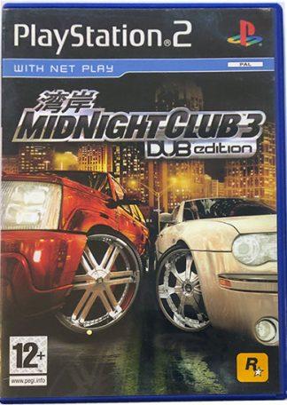 Midnight Club 3 DUB Edition PS2